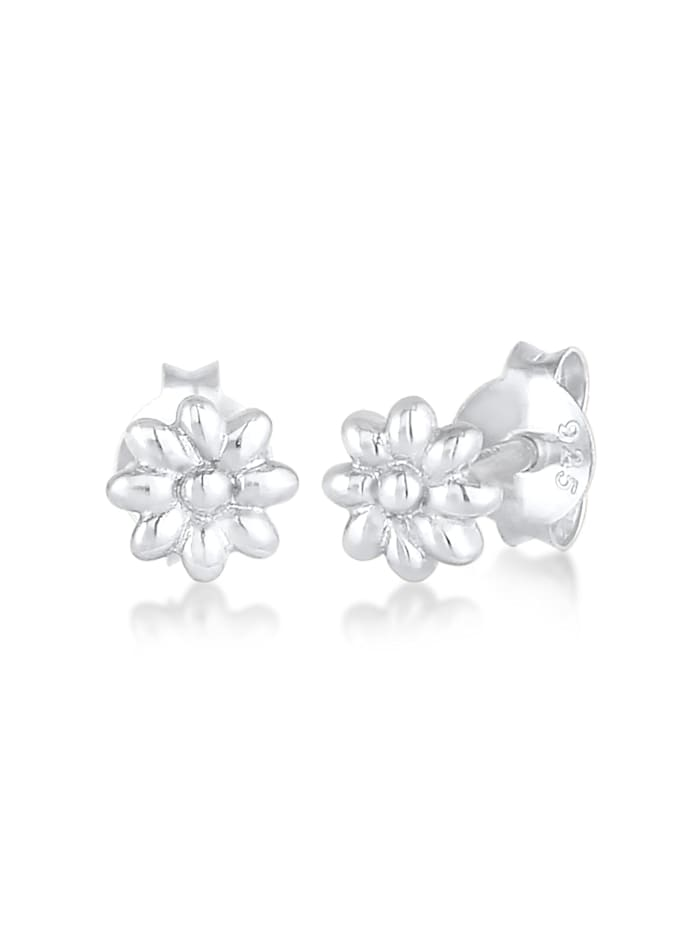 Elli Ohrringe Gänseblume Natur Blüte Blume 925 Silber, Silber