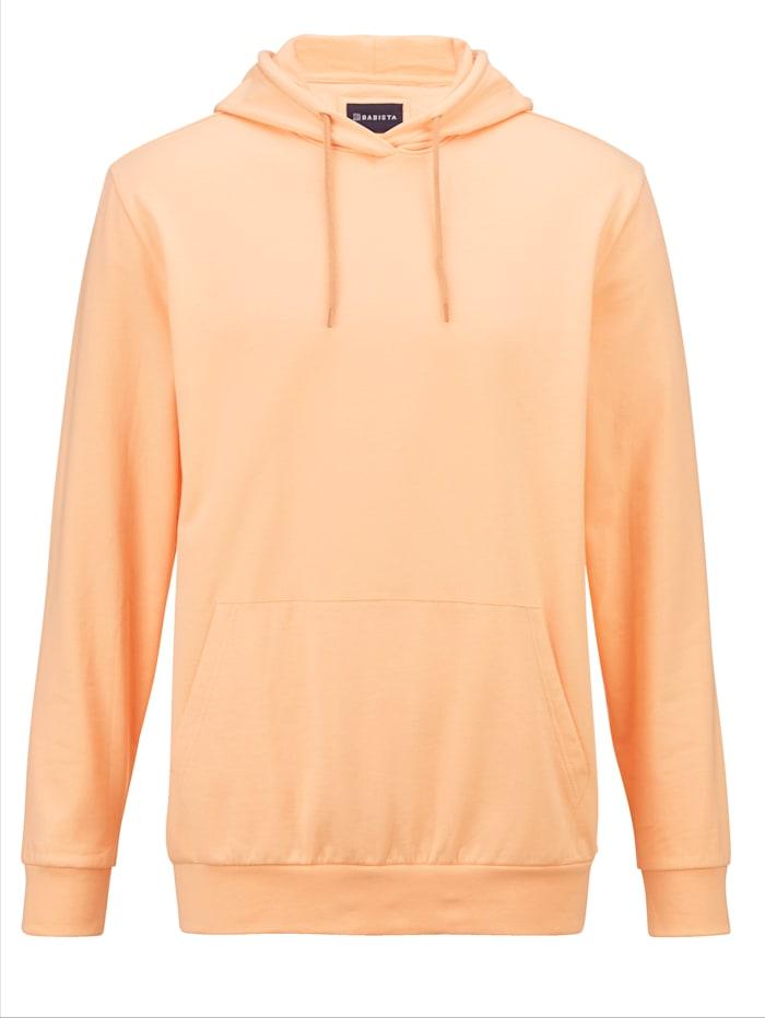 BABISTA Sweatshirt in modischem Hoodie-Style, Apricot