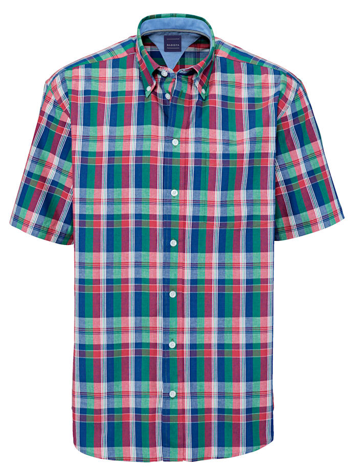 BABISTA Overhemd, Koraal/Groen