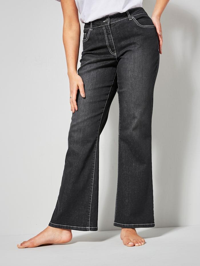 Dollywood Jeans LEA Bootcut, Schwarz