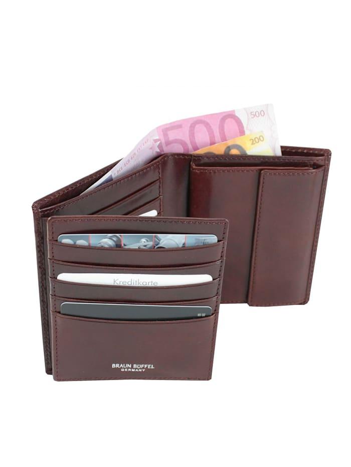 Country Geldbörse Leder 10,5 cm