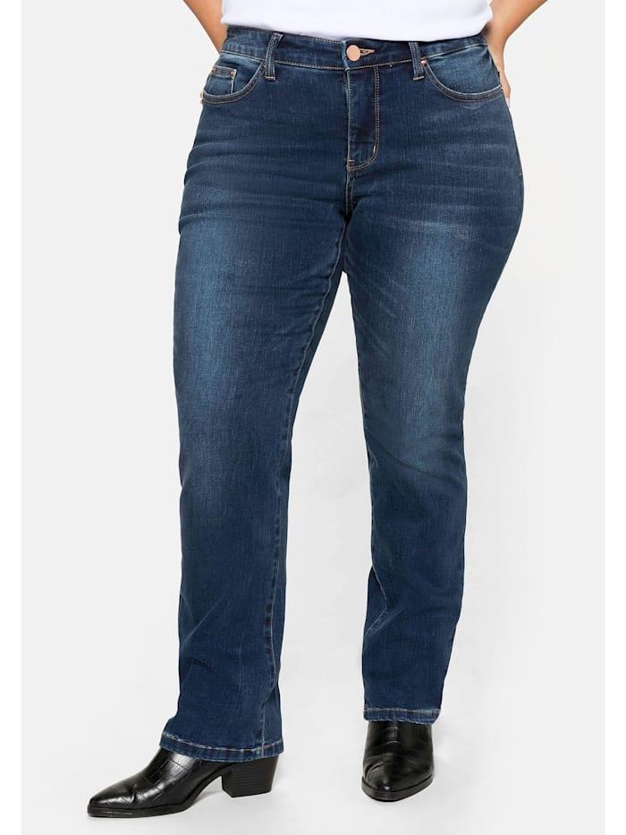 Sheego Sheego Jeans, dark blue Denim