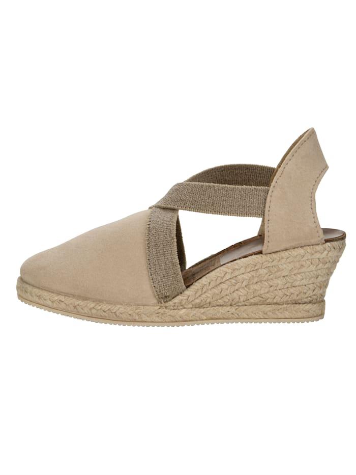 Sandaaltje met elastische riempjes