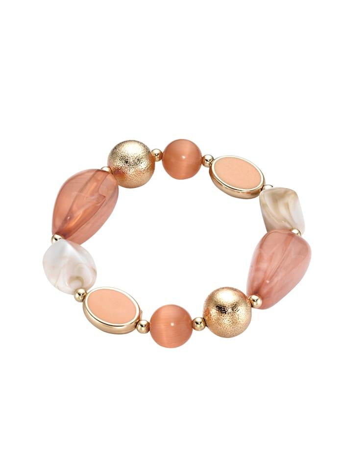 Armband mit Cat-Eye Stones, Braun