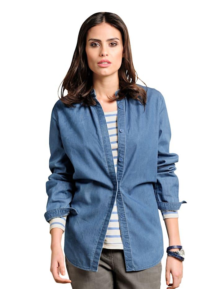 Alba Moda Spijkerblouse, Blauw