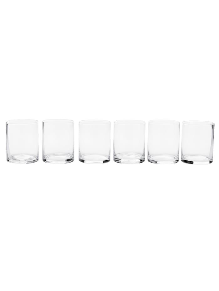 IMPRESSIONEN living Wasserglas-Set, 6-tlg., Klar