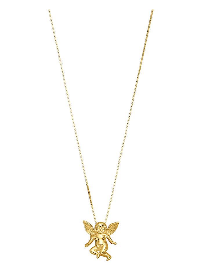 Pendentif 'Ange gardien' avec chaîne