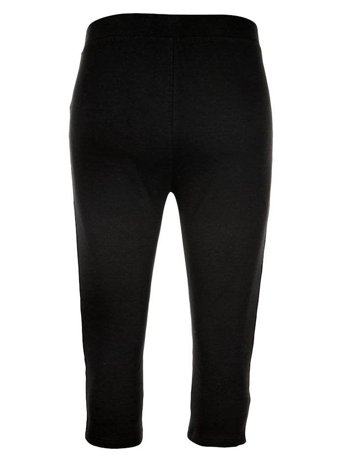 Capri nohavice v elastickej jersey kvalite