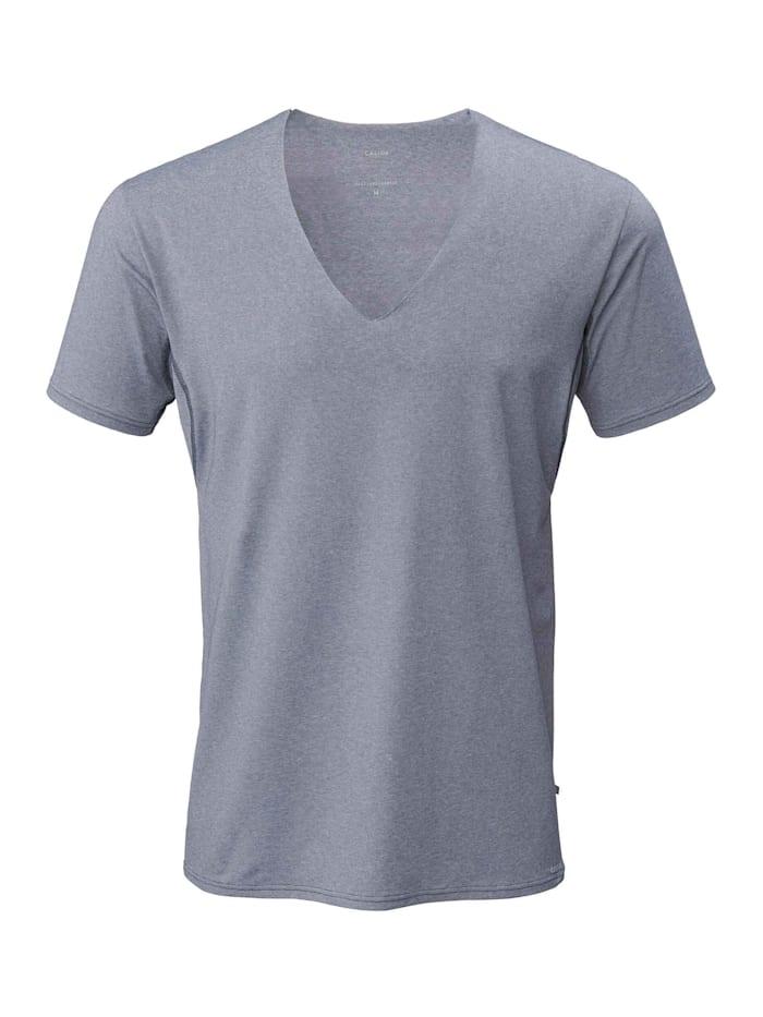 Calida Business Shirt mit Frackschnitt, clean cut Made in Europe, dark blue