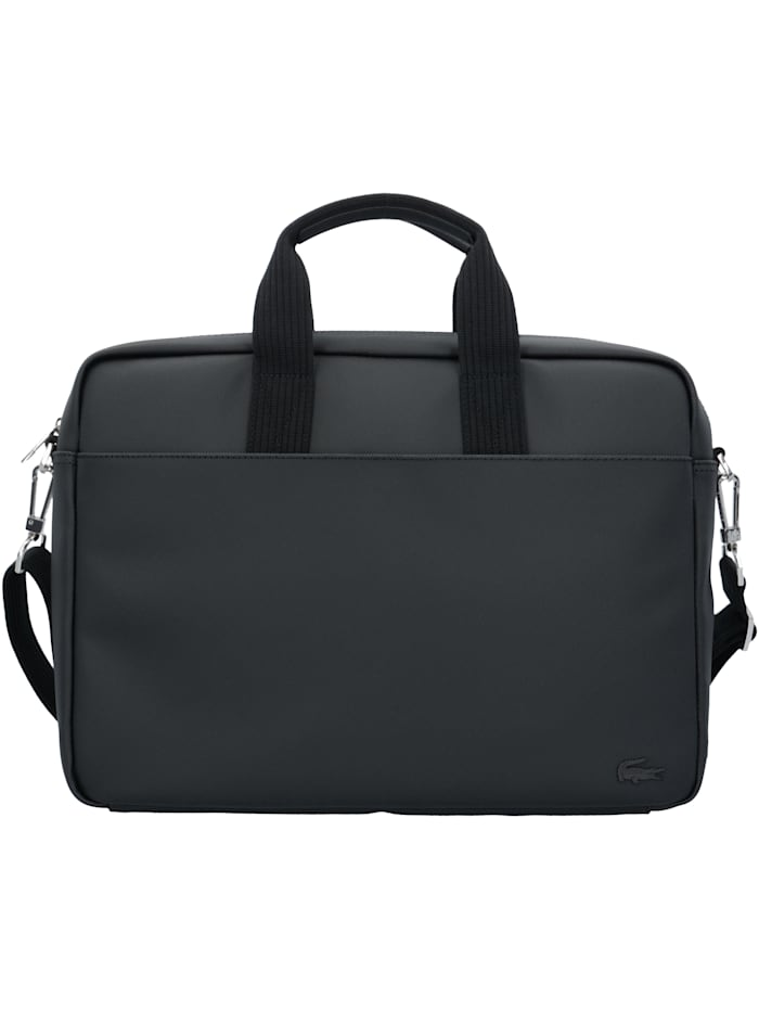 LACOSTE Classic Aktentasche 40 cm Laptopfach Tragegriff, black
