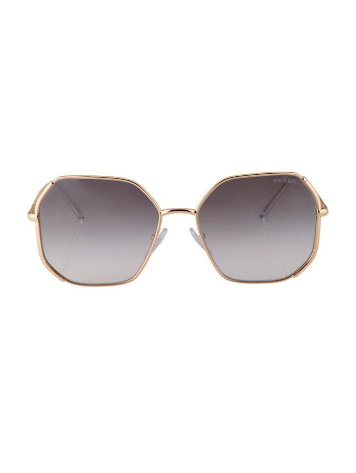 PRADA Sonnenbrille, Silberfarben