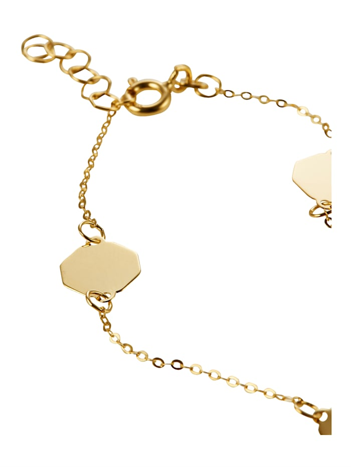 Armband in Gelbgold 333
