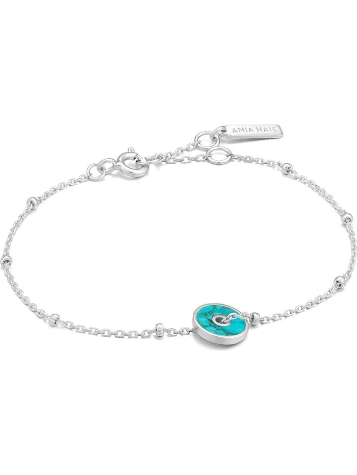 Ania Haie Ania Haie Damen-Armband 925er Silber Farbstein, silber