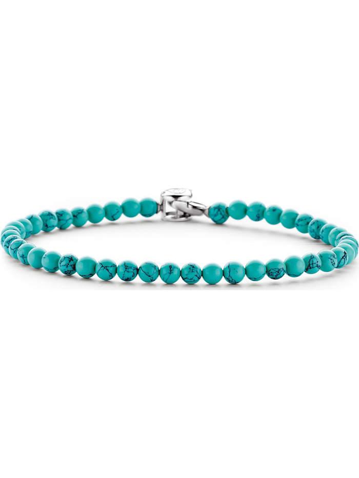 Ti Sento Milano Ti Sento - Milano Damen-Armband 925er Silber Unecht, türkis