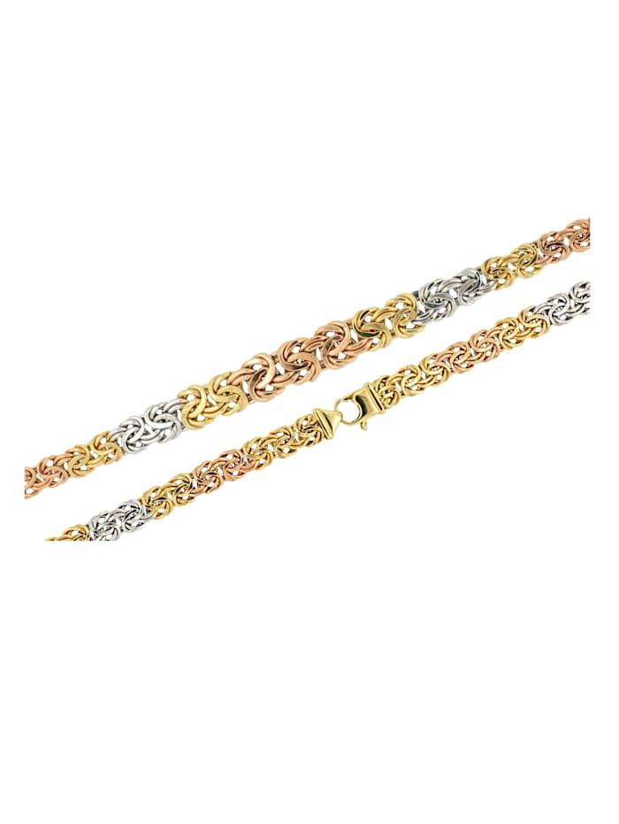 Diemer Gold Königskette in Gold 585, Multicolor