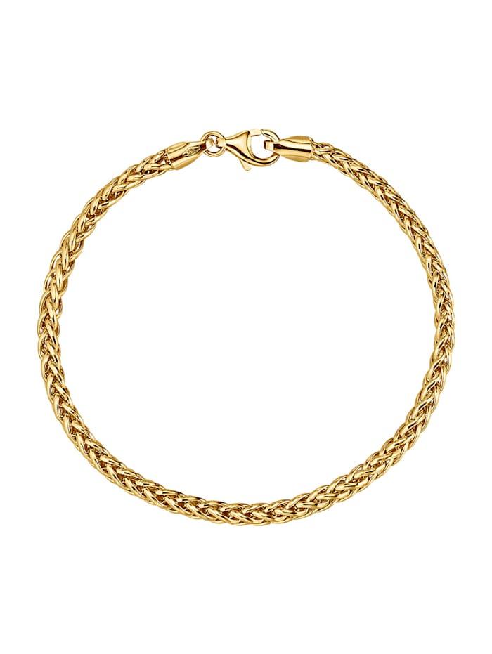 Diemer Gold Bracelet en or jaune 585, Coloris or jaune