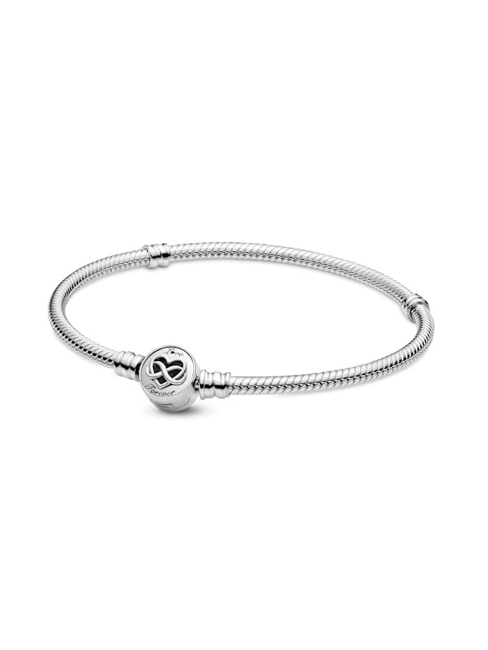 Pandora Armband - Unendlichkeit Herz - 599365C00, Silberfarben