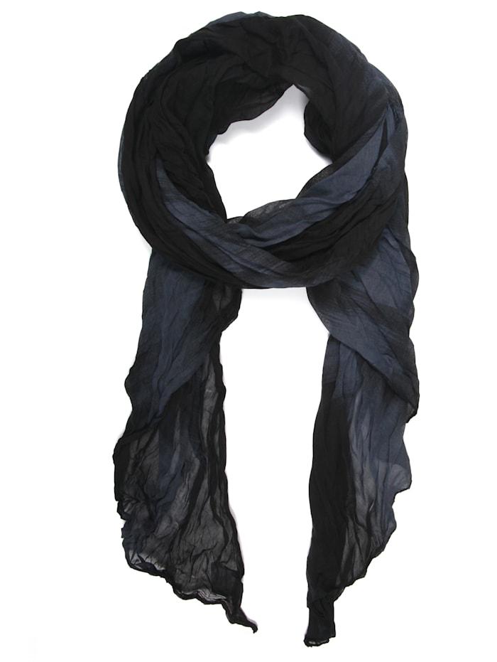 Collezione Alessandro Italienischer Schal Josephine Made in Italy, schwarz