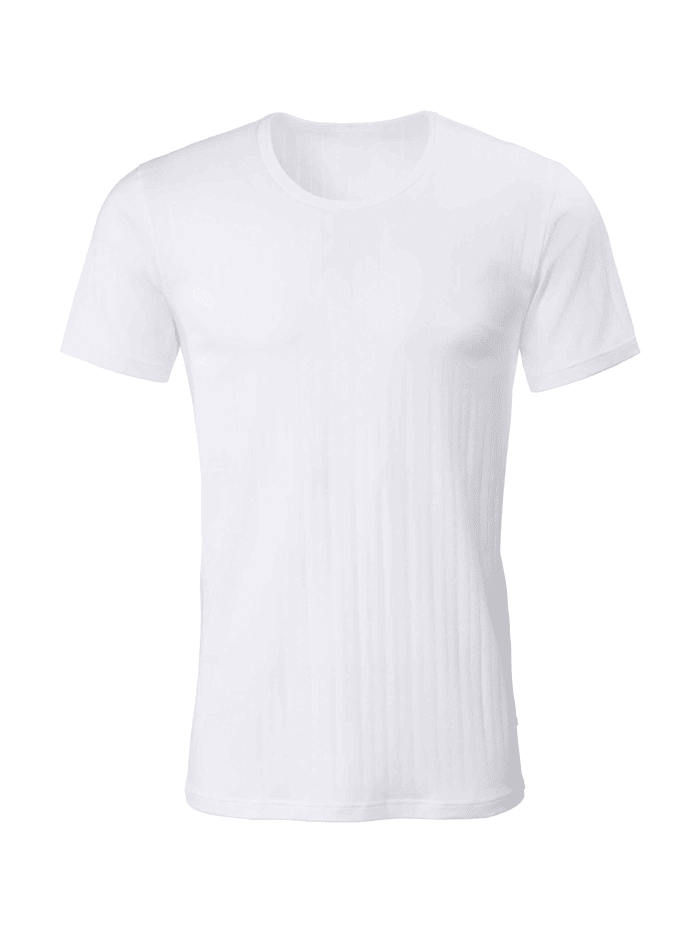Calida T-Shirt, Rundhals Ökotex zertifiziert, white