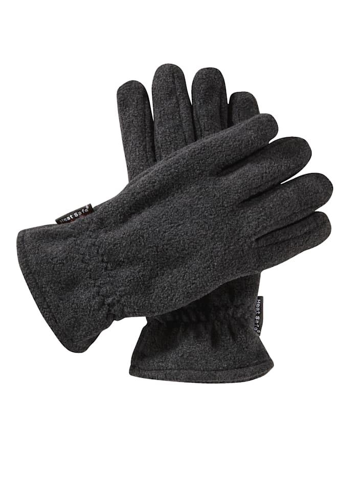 BABISTA Fleece-Handschuhe mit Thermoeffekt, graumelange
