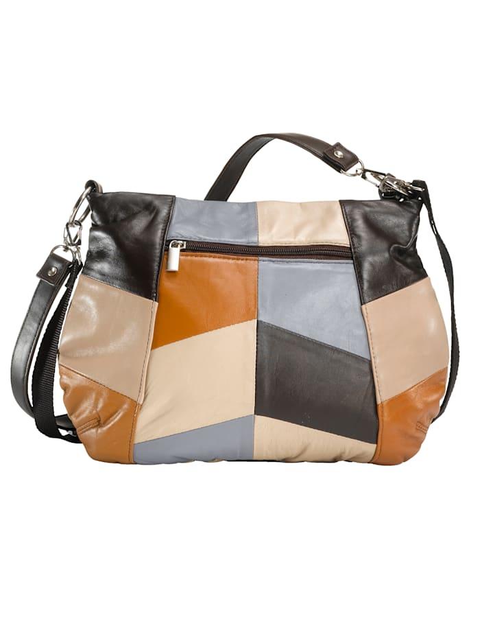 Handtasche in Patchwork-Optik