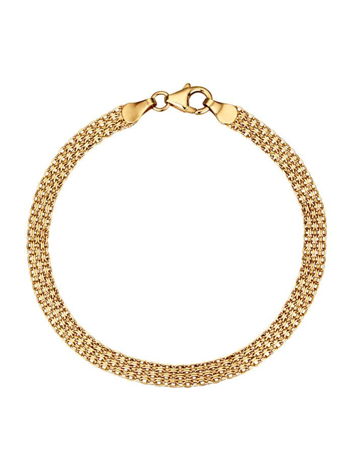 Armband av bismarcklänk, Guldfärgad