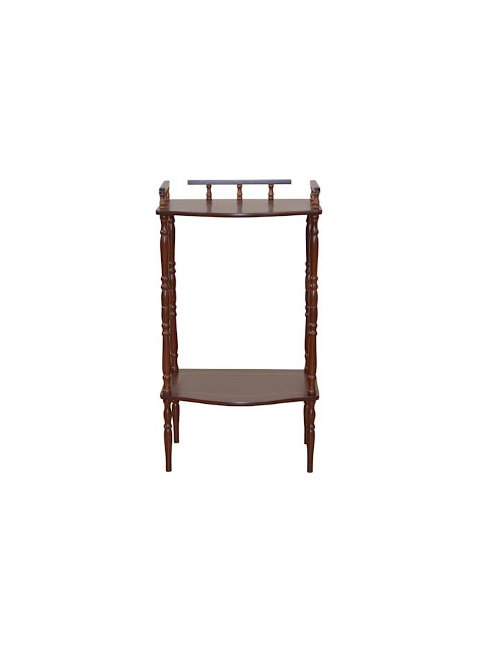 Möbel-Direkt-Online Telefontisch Rusti, nussbaumfarben