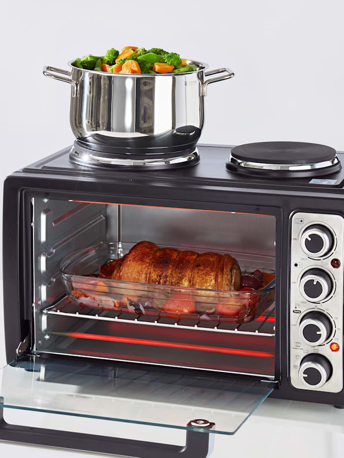 Compactoven met kookplaten