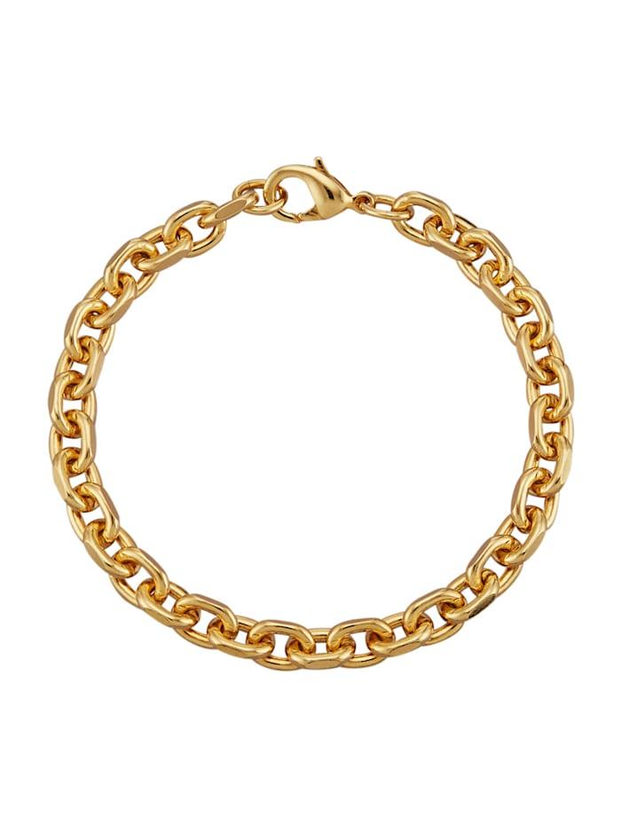 Armband – ankarlänk, Guldfärgad