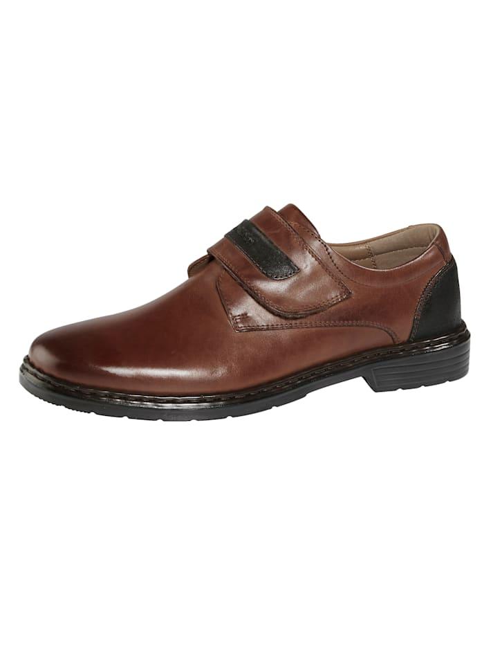 Josef Seibel Slipper obuv v harmonickej farebnej kombinácii, Hnedá