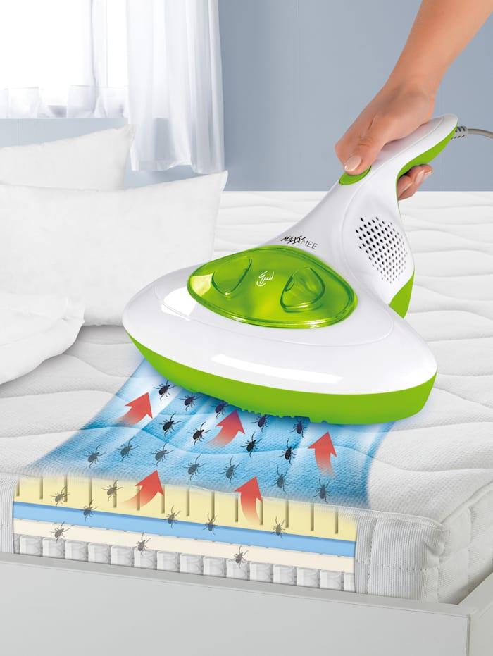 Cleanmaxx Antimilben-Handstaubsauger mit UV-C-Licht, Weiß/Grün