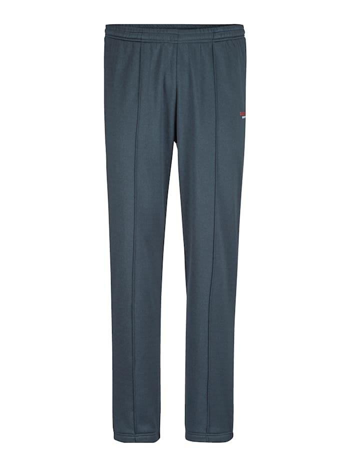 BABISTA Pantalon de loisirs à intérieur doux et chaud, Bleu fumée