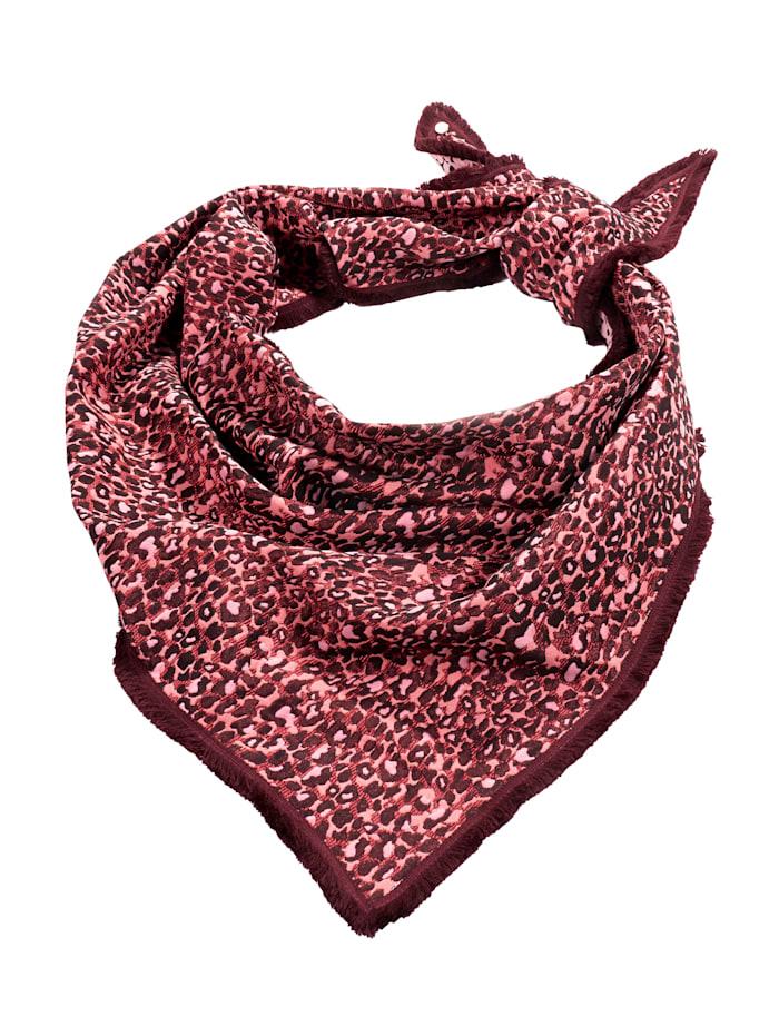 POM Schal, pink