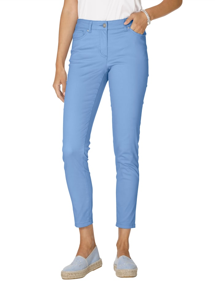 AMY VERMONT Hose in angesagten Farben, Hellblau