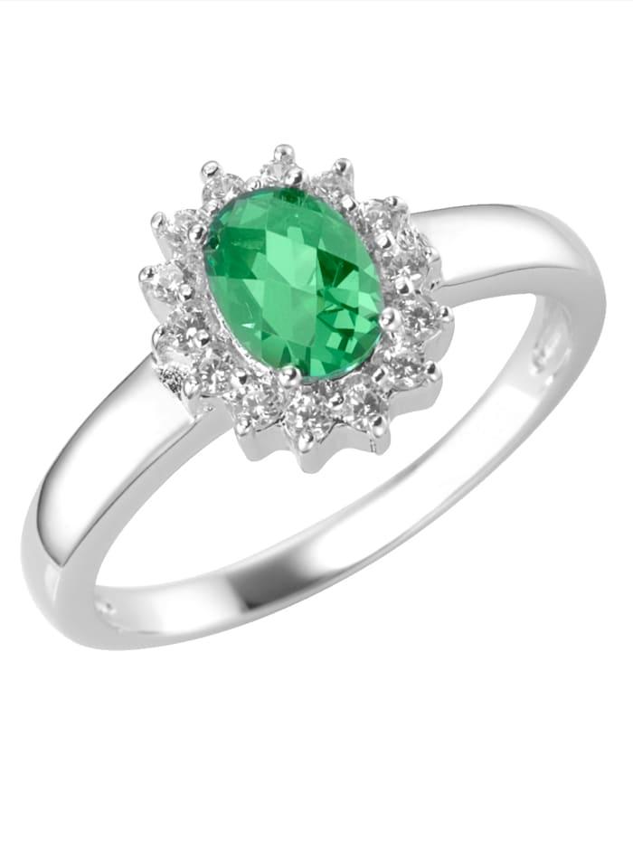Smart Jewel Damenring SMART JEWEL 191127993000, Grün