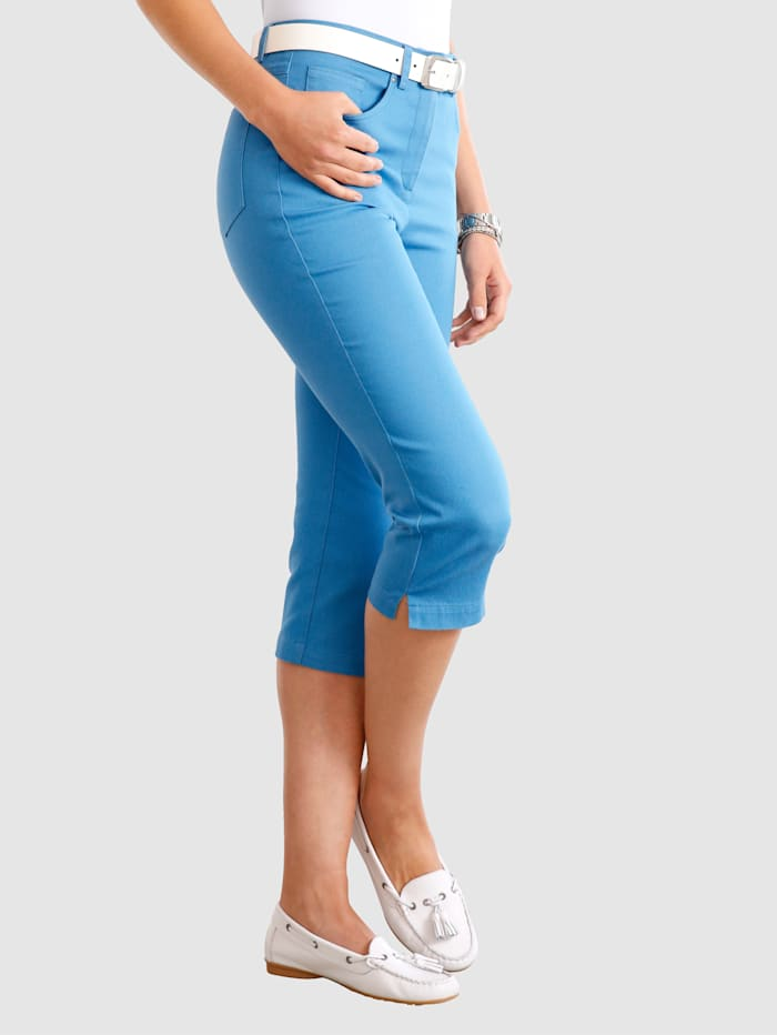 Paola Capribroek in 5-pocketmodel, Lichtblauw