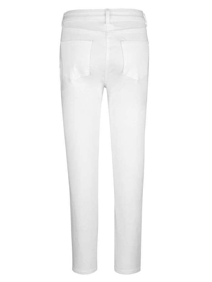 Pantalon en matière extensible confortable