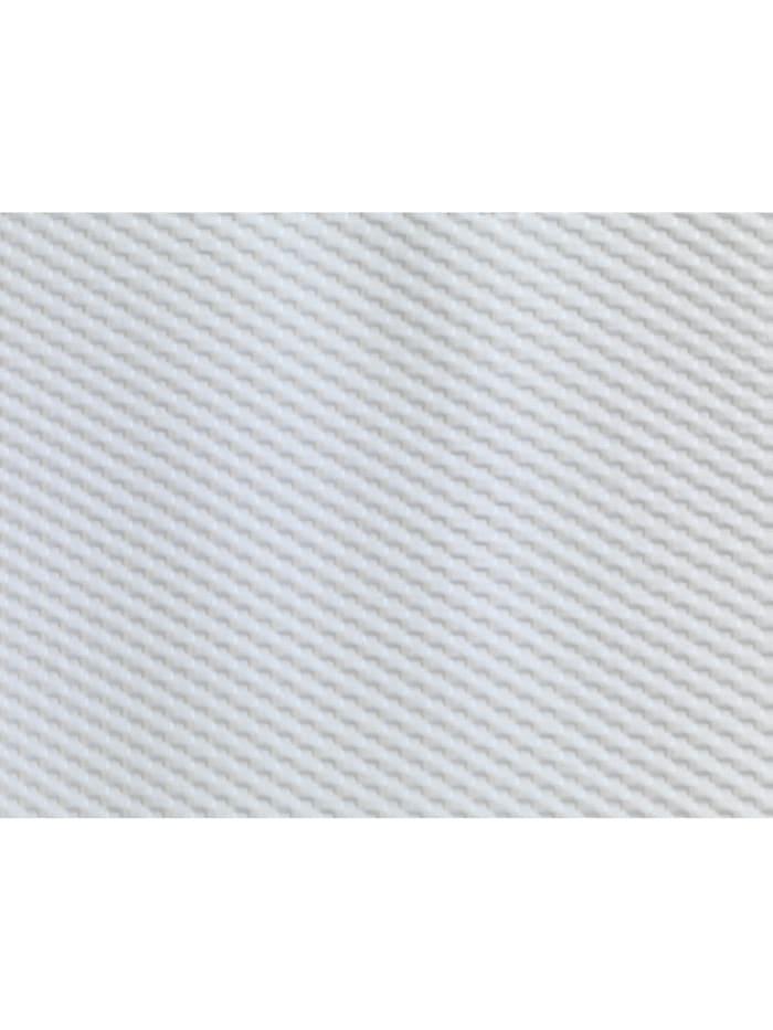 Duschvorhang Punto Weiß, Textil (Polyester), 180 x 200 cm, waschbar