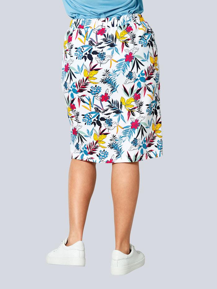 Sweat sukně s gumovou pasovkou