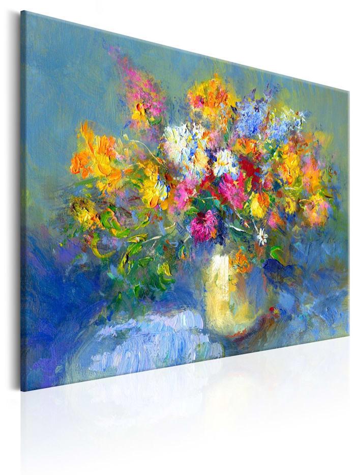 artgeist Handgemalte Bild Autumn Bouquet, mehrfarbig