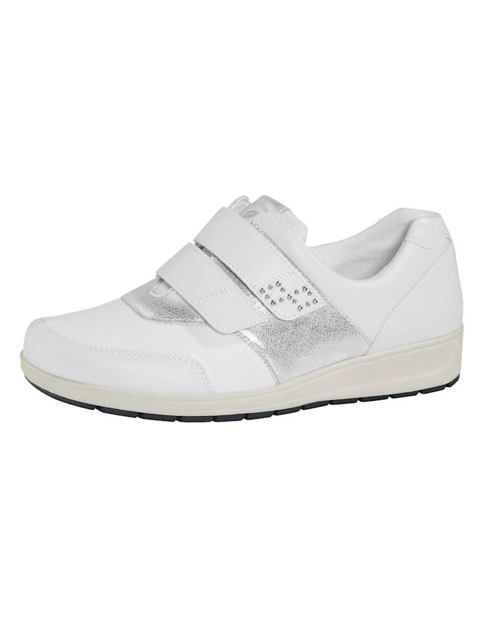 Waldläufer Slipper obuv s vybavením Ortho Tritt, Bílá