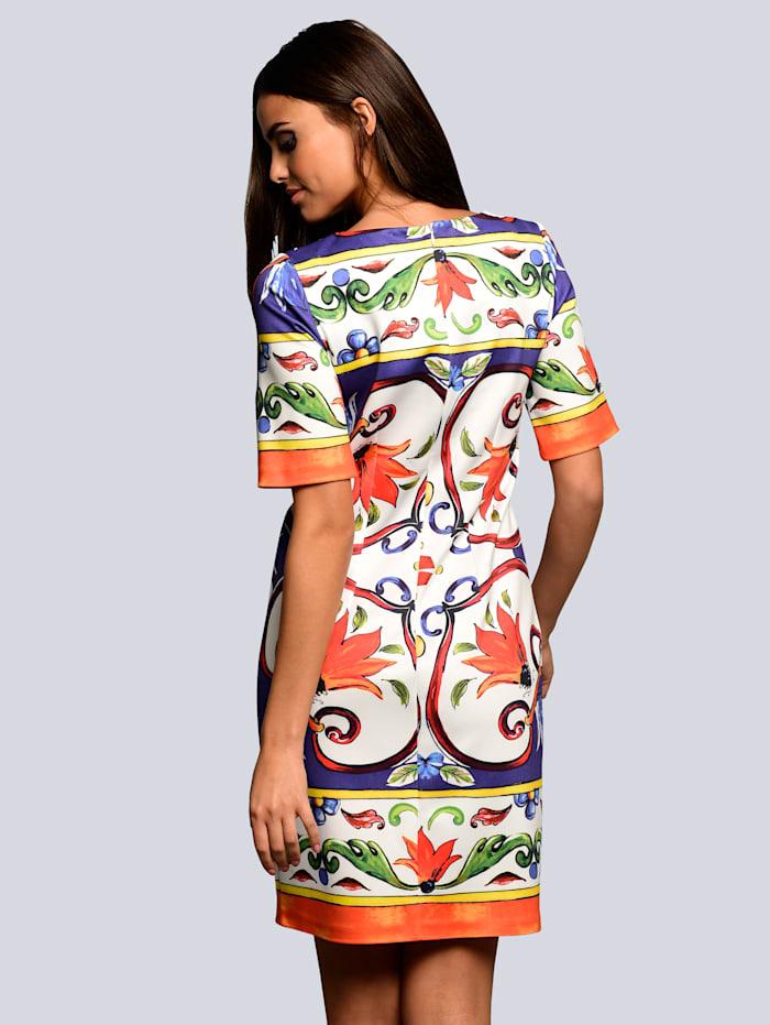 Kleid mit ausdrucksstarkem Print