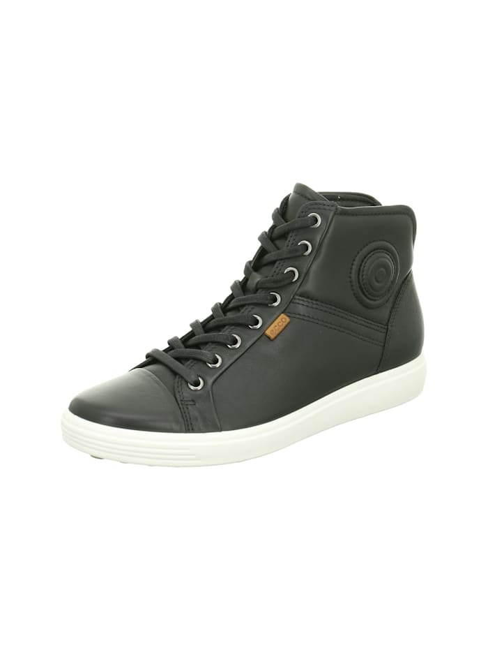 Ecco Damen Sneaker in schwarz, schwarz