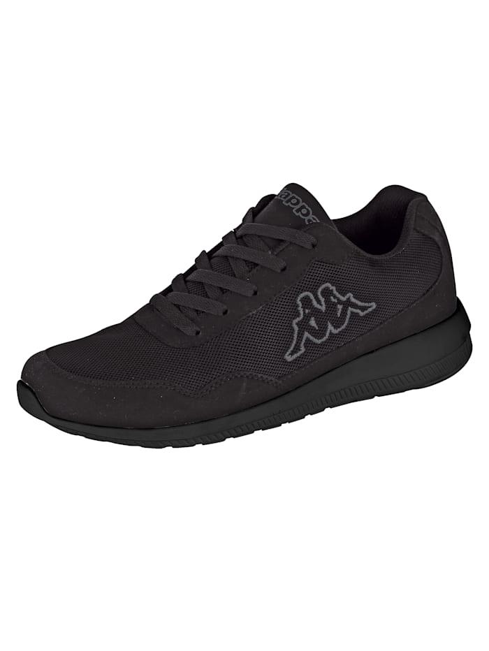 Kappa Sneaker in meshlook, Lichtgrijs/Grijs