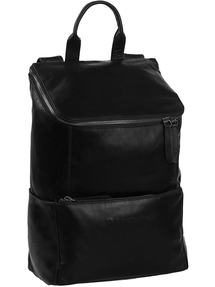 The Chesterfield Brand Sanya Rucksack Leder 38 cm Laptopfach, schwarz