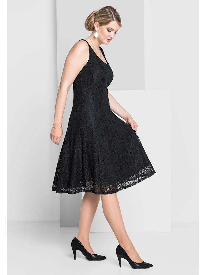 Sheego Kleid in Bahnenform