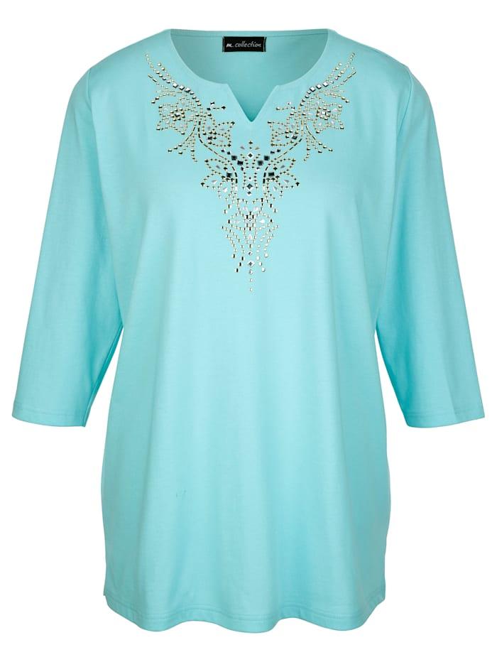 Shirt mit dekorativen Plättchen