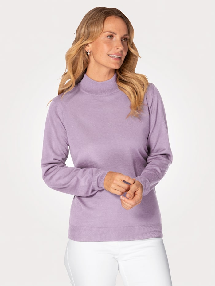 Jumper made from a Merino wool blend