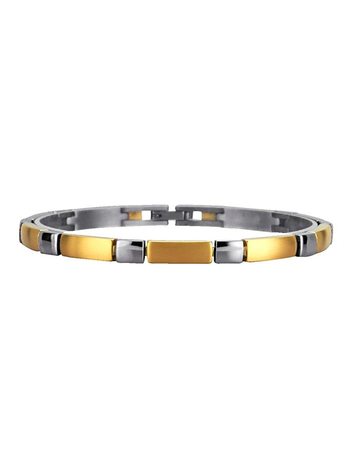 Armband van titanium, Geelgoudkleur