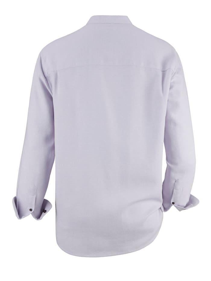 Chemise d'aspect bicolore